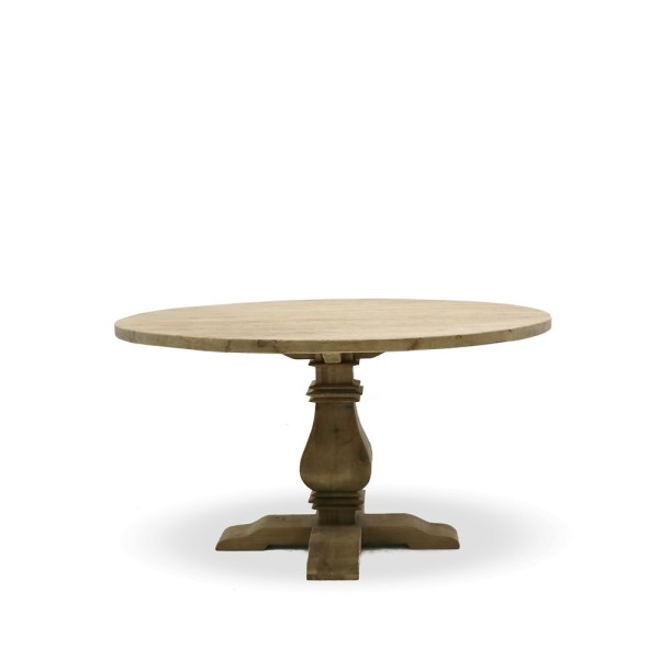 Mulhouse Round Elm Dining Table -  120cm