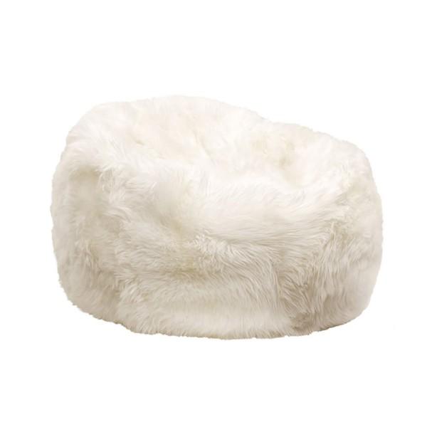 Sheepskin Beanbag Cover Only - Ivory