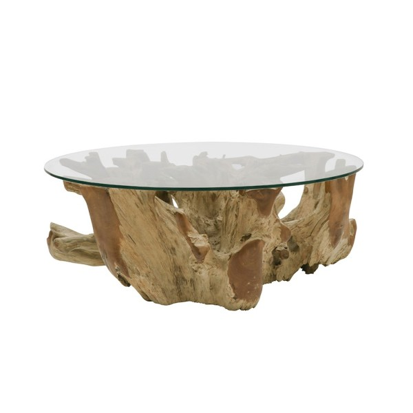 Crusoe Root Coffee Table - Round