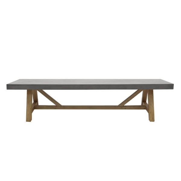 Alorac Concrete Bench - 200cm
