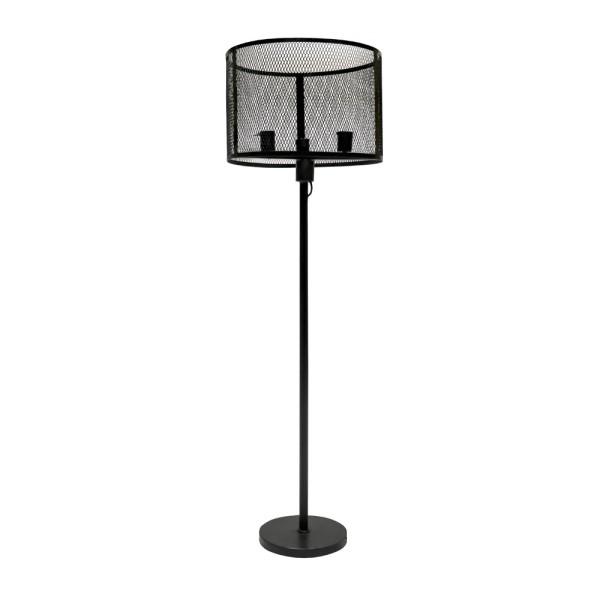 Bank Metal Standing Round Lamp 151cm