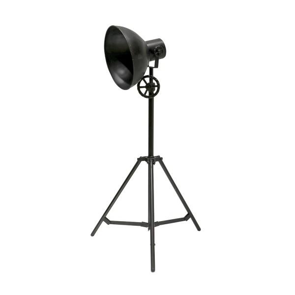 Chandri Metal Lamp - Black