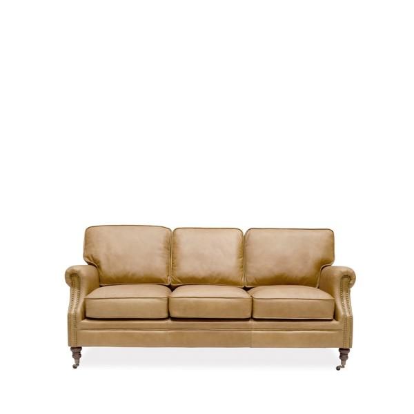 Brunswick 3 Seater Sofa - Camel