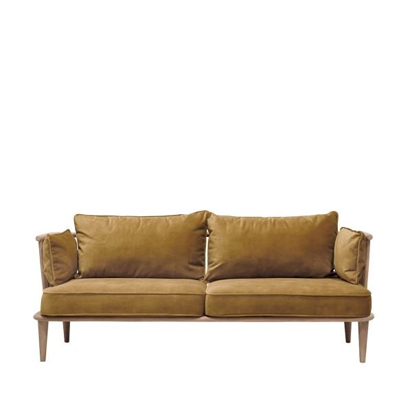 Ankara 2 Seater Sofa - Copper