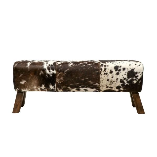 Pommel Cowhide Bench