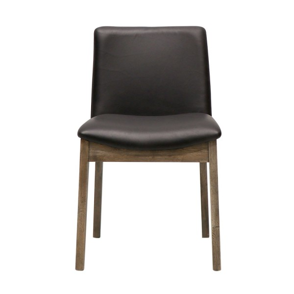Clifton Leather Dining Chair - Black