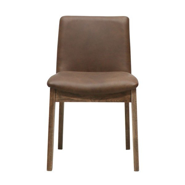 Clifton Leather Dining Chair - Brown