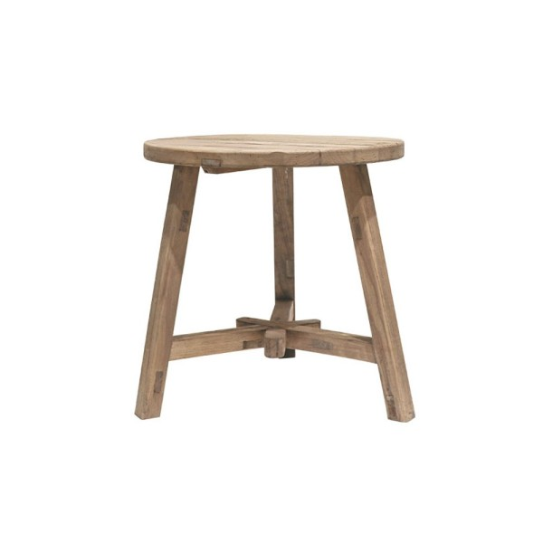 Parq Tall Round End Table - Natural