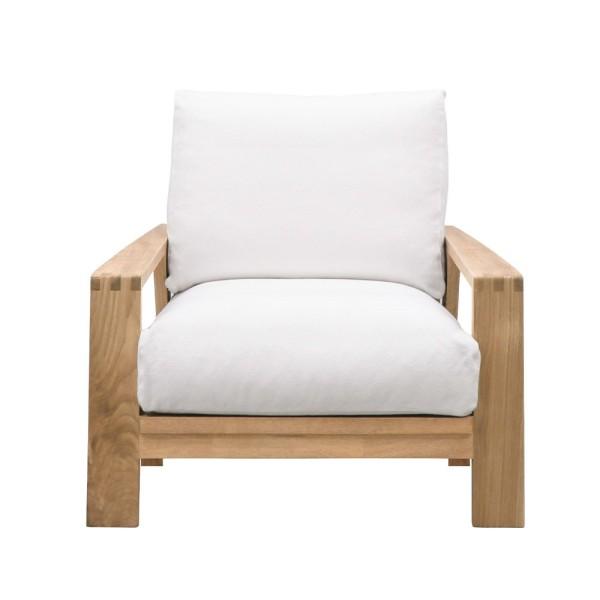 Cassel Armchair - White