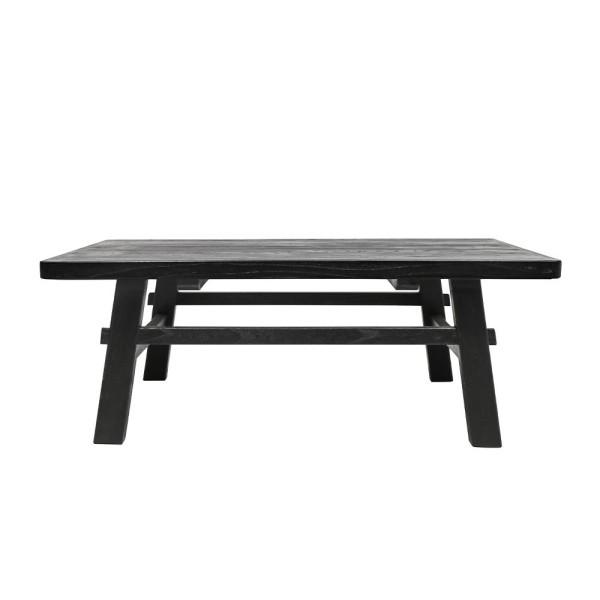 Parq Rectangle Coffee Table - Black
