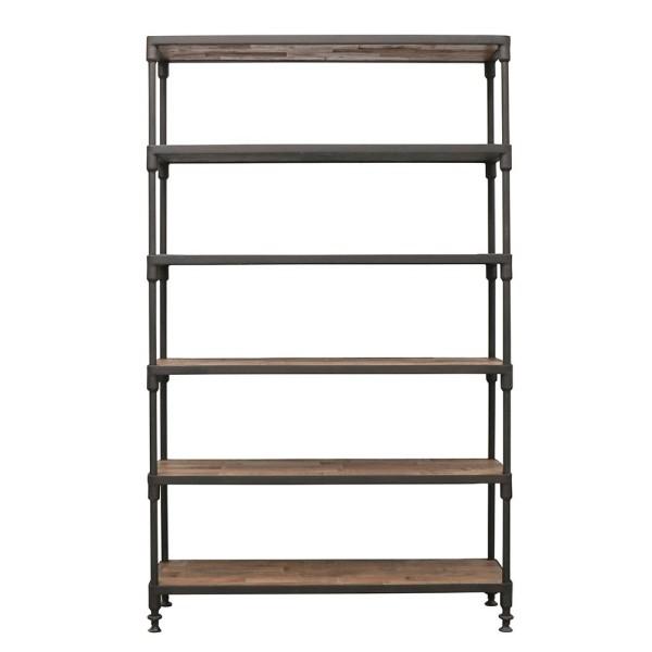 Industrial Metal Bookshelf - Medium