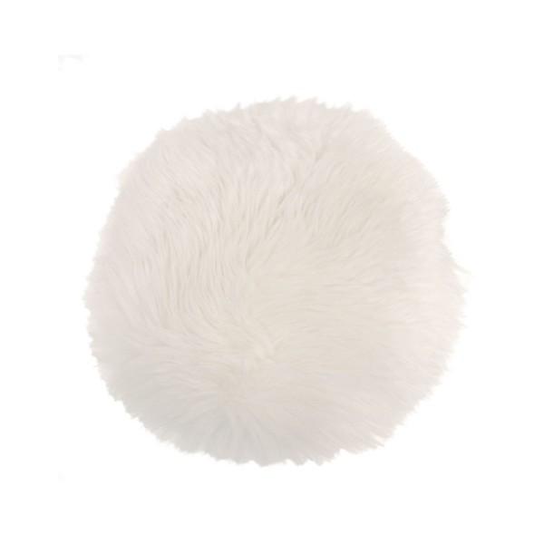 Sheepskin Seat Pad - Ivory