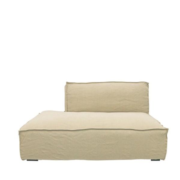 Maddox Sectional Sofa R/H Armless - Natural