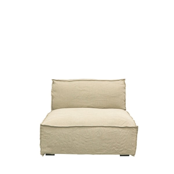 Maddox Sectional Sofa 1 Seater - Natural