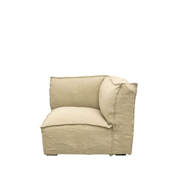 Maddox Sectional Corner Sofa - Natural