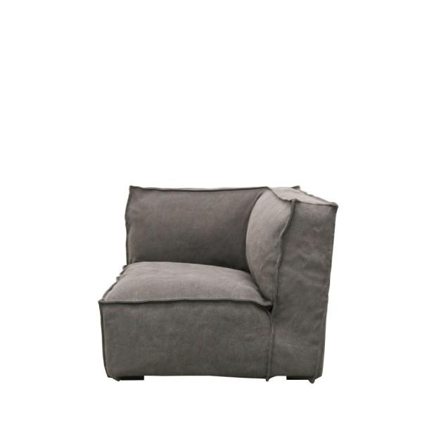 Maddox Sectional Corner Sofa - Charcoal