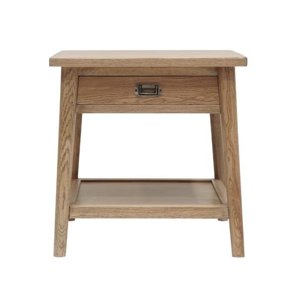 Vaasa Oak Bedside Table